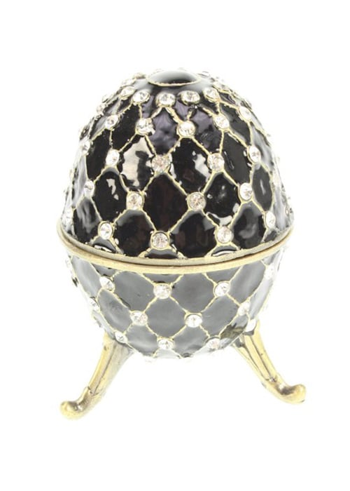 Faberge Ei schwarz