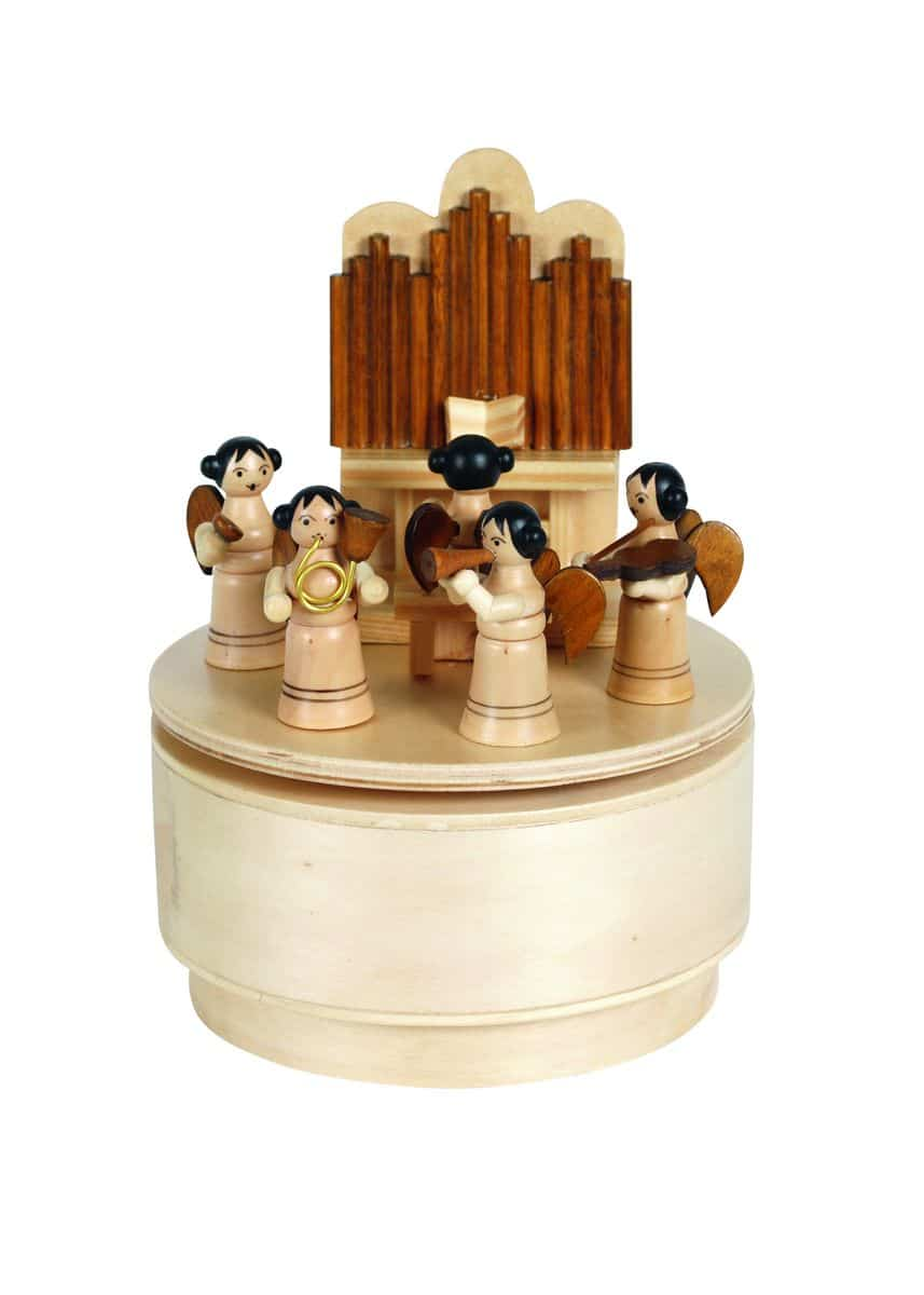 Angel Singerchoir Music Box