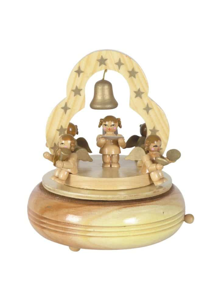 Angel Singerchoir music box - 17 cm